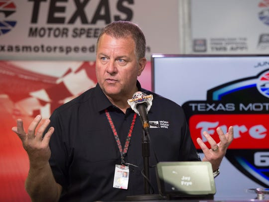 IndyCar president Jay Frye discusses the weather shortened