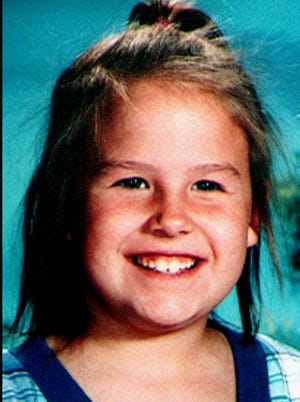 File: This is an undated family photo of the late Megan Kanka, a 7-year-old Hamilton Township, N.J., girl who was found murdered Saturday, July 30, 1994, in nearby West Windsor, N.J.