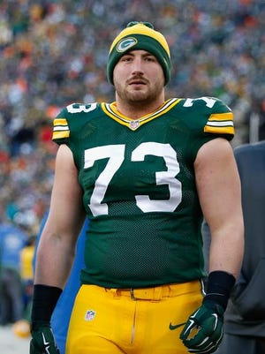 Green Bay Packers tackle JC Tretter.