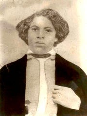 In the late 1850s freed slaves Joshua and Sanford Lyles from Tennessee migrated north and purchased land near Princeton, Ind. In 1870, Joshua Lyles, shown here, donated 60 acres of that land which became the community of Lyles Station.