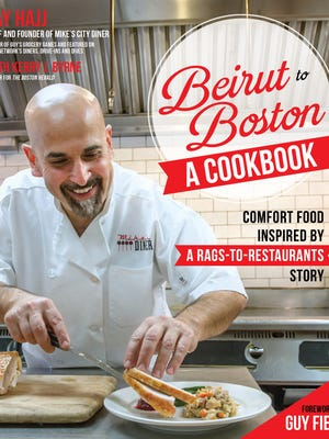 Boston chef and restaurateur Jay Hajj has written a cookbook based on his immigrant story.