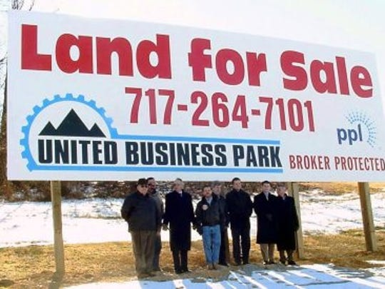 United Business Park in Southampton Township, Franklin County, must deal with water issues for its first potential tenants.