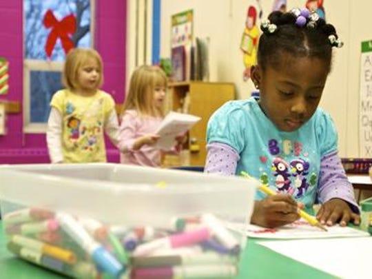 The Gamble-Nippert YMCA in Westwood provides preschool