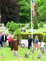 A scene from Dover's Memorial Day celebration on Monday.