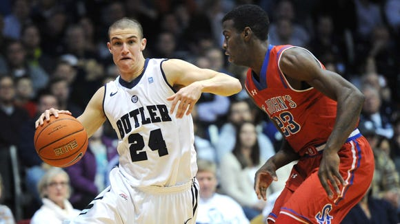Kellen Dunham and his Butler teammates will face a Sweet 16 team on the road in non-conference play next December.
