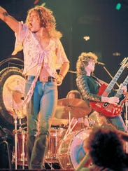 The music of Led Zeppelin  (with Robert Plant and Jimmy
