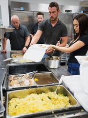 Brad Cozza of Society restaurant of Fort Myers serves