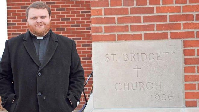 Father Corey Close began serving St. Bridget Catholic Church, Victor, and St. Patrick Catholic Church, Brooklyn, in July 2016.