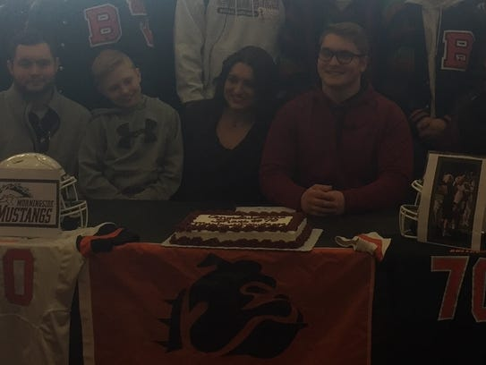 Burkburnett's Shane Huizenga signed with Morningside
