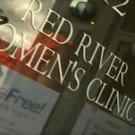 The Red River Women's Clinic, North Dakota's only abortion clinic, is seen in this picture provided by CBS Fargo affiliate KXJB-TV.