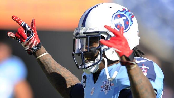 Titans running back Chris Johnson