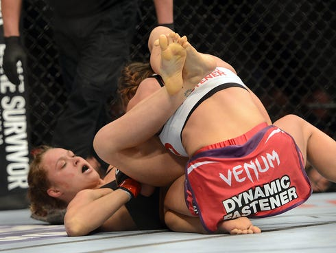 Allegations Of Ronda Rousey Concerning Her Yellow And Purple Feet