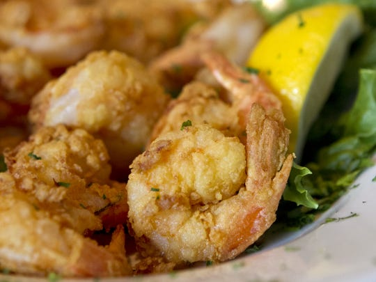 Fried shrimp from Skip One, the 40-plus year old restaurant closed its 3-year-old location on San Carlos Boulevard last week.