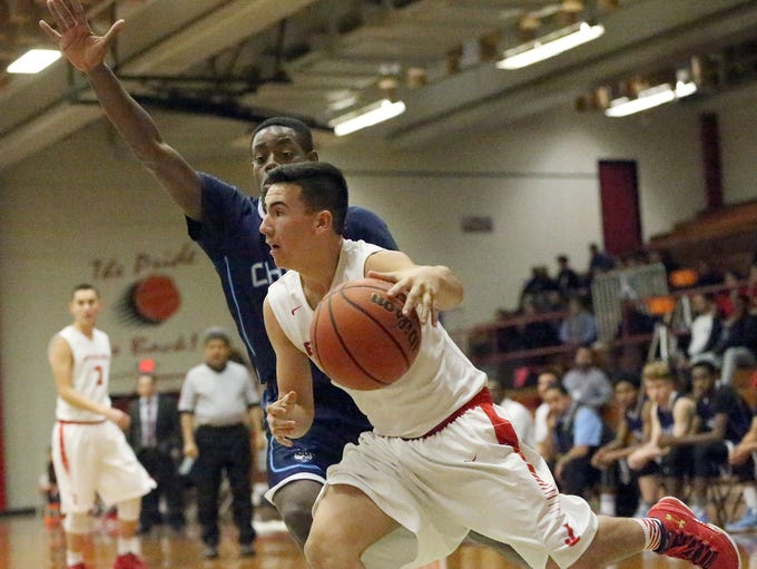 Jefferson hosted Chapin in prep boys basketball action