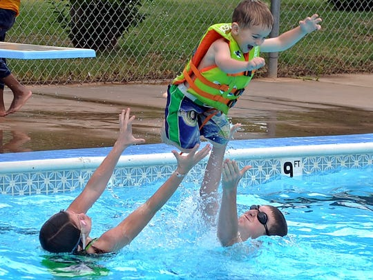 Camp Fire's Harrell Park Pool will open for the season