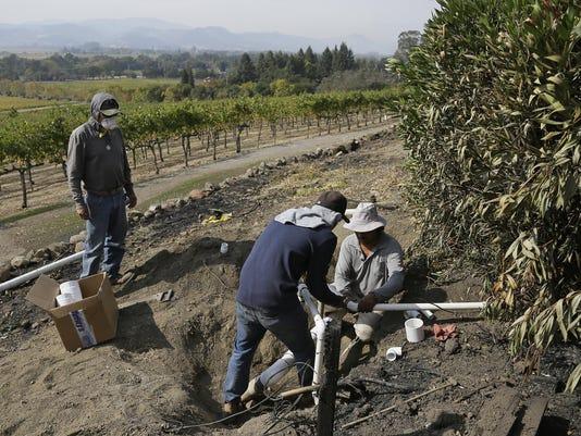 California Wildfires Needing to Work