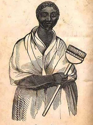 Elleanor Eldridge, a free woman of African and indigenous descent, and a Rhode Island entrepreneur in the first half of the 19th century.