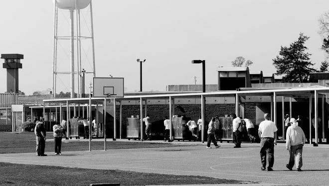 The David Wade Correctional Facility in Homer, Louisiana houses inmates serving sentences of decades to life.