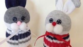 Sock bunny crafts