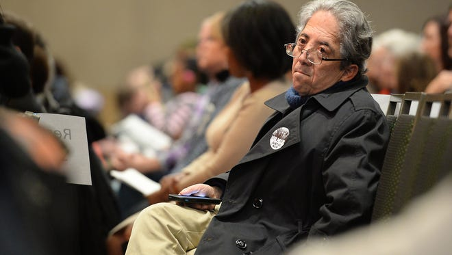 """State Sen. John Kefalas attends the Martin Luther King, Jr. Celebration at the Lory Student Center on Monday, January 16, 2016. This year's theme was """"Justice Now."""""""