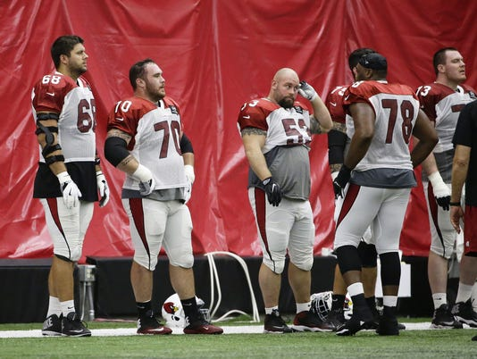 Arizona Cardinals Practice