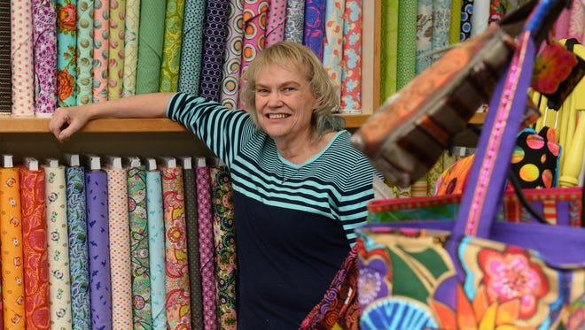 Joyce Watson of Big Sky Quilts will be at the Home and Garden Show with a fleet of demo sewing machines and will encourage attendees to stop by to sew pillow cases for deployed troops.