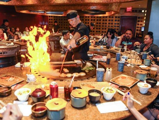 Joinus Japanese restaurant in Tumon.