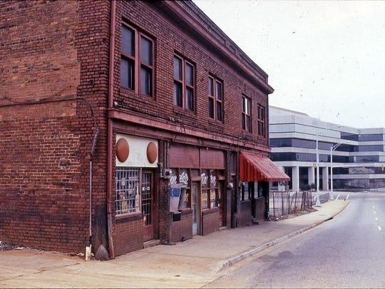 The former Blue Bird Cafe on Spring Street was one of the many black businesses that thrived in Little Texas' heyday. The city of Greenville purchased the building in 1984 to build a parking lot.