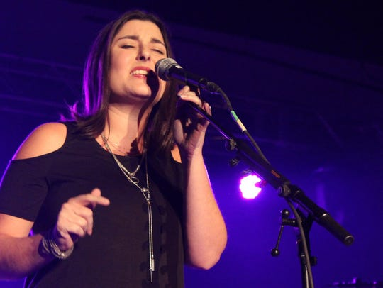 Jenny Gill won new fans with her opening performance