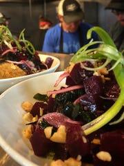 Beet poke is on the menu at Gogi in Royal Oak, opening