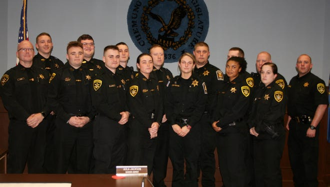 The Basic Training and Peace Officer Academy for correction officers honored its 2017 graduates Friday, Feb. 24 in Elmira.