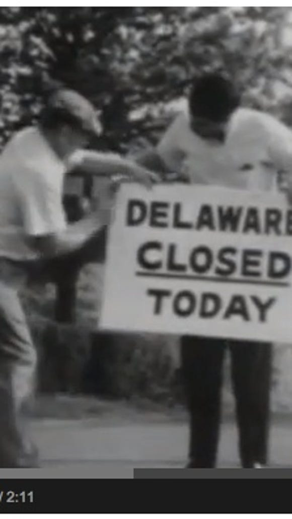"""An episode of """"Candid Camera"""" in 1963 closed Delaware as a prank."""