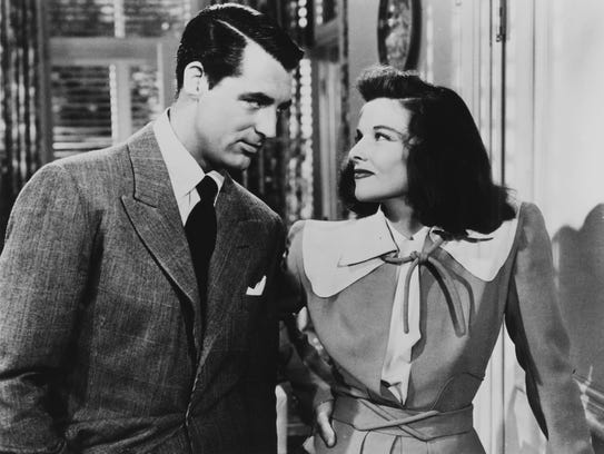Cary Grant and Katharine Hepburn in 'The Philadelphia