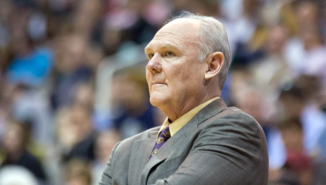 """George Karl's book, """"Furious George,"""" comes out Tuesday."""
