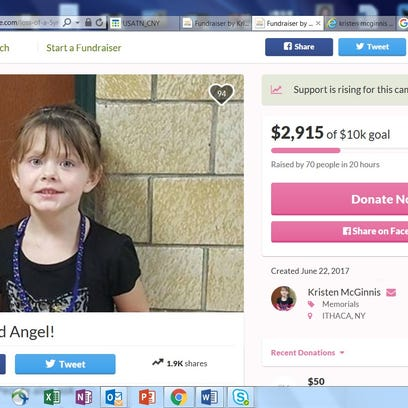 A GoFundMe page was set up for the family of Annalise