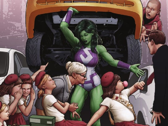 She-Hulk would immediately be one of the strongest