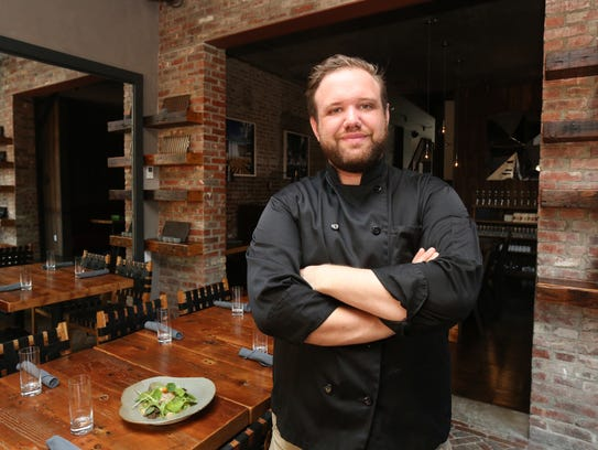 Chef Nicholas Leiss at The Beacon Hotel on Main Street