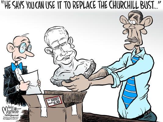 POU 1004 Cartoon