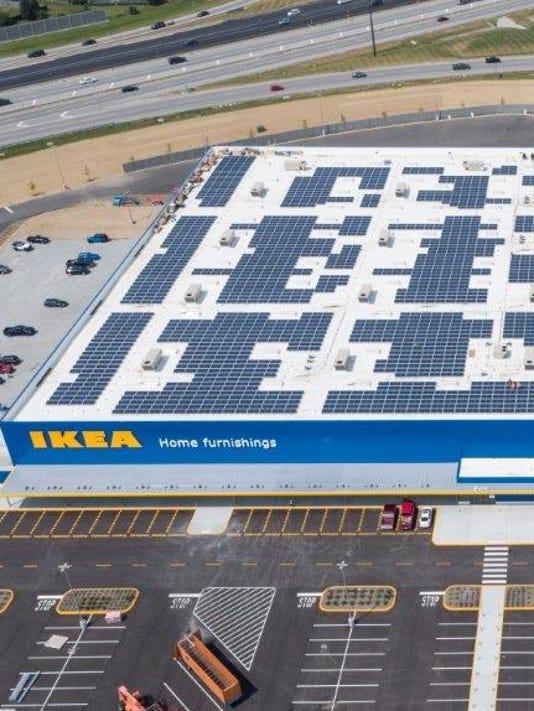 Fishers Ikea solar