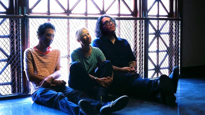 From left, Ira Kaplan, Georgia Hubley, and James McNew of Yo La Tengo. The band will perform at Manhattan's Town Hall, Wednesday and Thursday. Co-founder Kaplan is a Croton native.