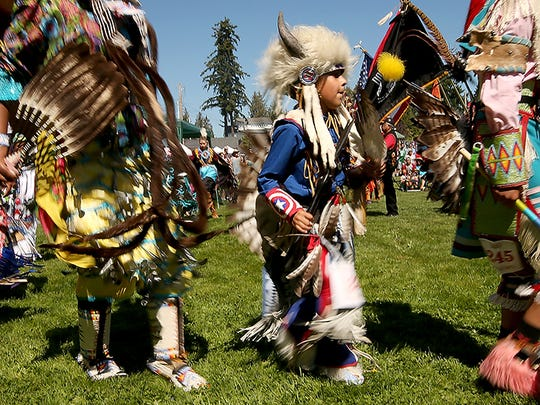 Chief Seattle Days in Suquamish on Saturday, August 20, 2016.