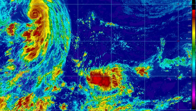 The National Weather Service issued a special weather statement about a tropical disturbance expected to near Guam on Wednesday which will bring rain and winds to the island.