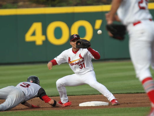 Images from the Springfield Cardinals against the Arkansas Travelers at Hammons Field on April 20, 2014.