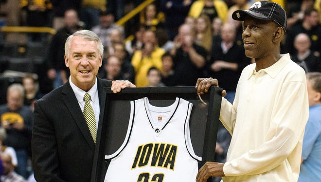 Iowa athletic director Gary Barta said changes are coming to Carver-Hawkeye Arena to honor former greats like Roy Marble (right).