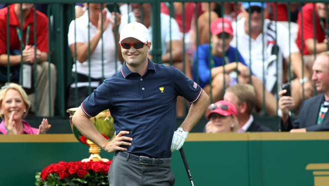 Masters champion Zach Johnson connects with the music of Dave Matthews Band because of the group's ability to reach across all different styles of music.