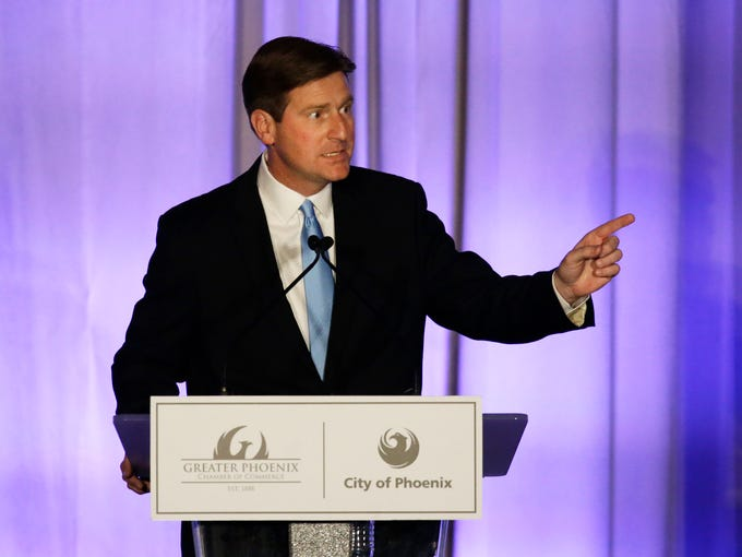 Mayor Greg Stanton delivers his fifth State of the