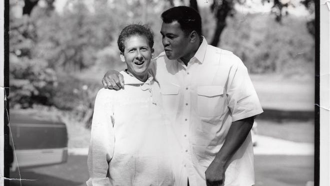 Davis Miller and Muhammad Ali became friends in 1988, when Miller thanked him for being his childhood hero.