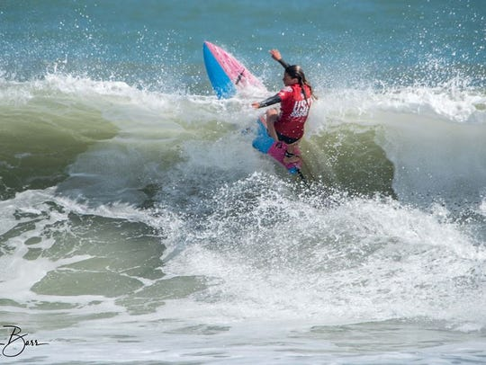 Coral Schuster will be in the junior women's pro for