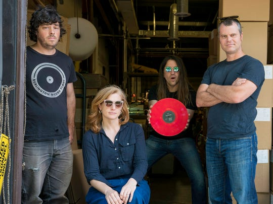 """Swale pressed its double album """"There's No One Here"""" at the Burlington Record Plant."""