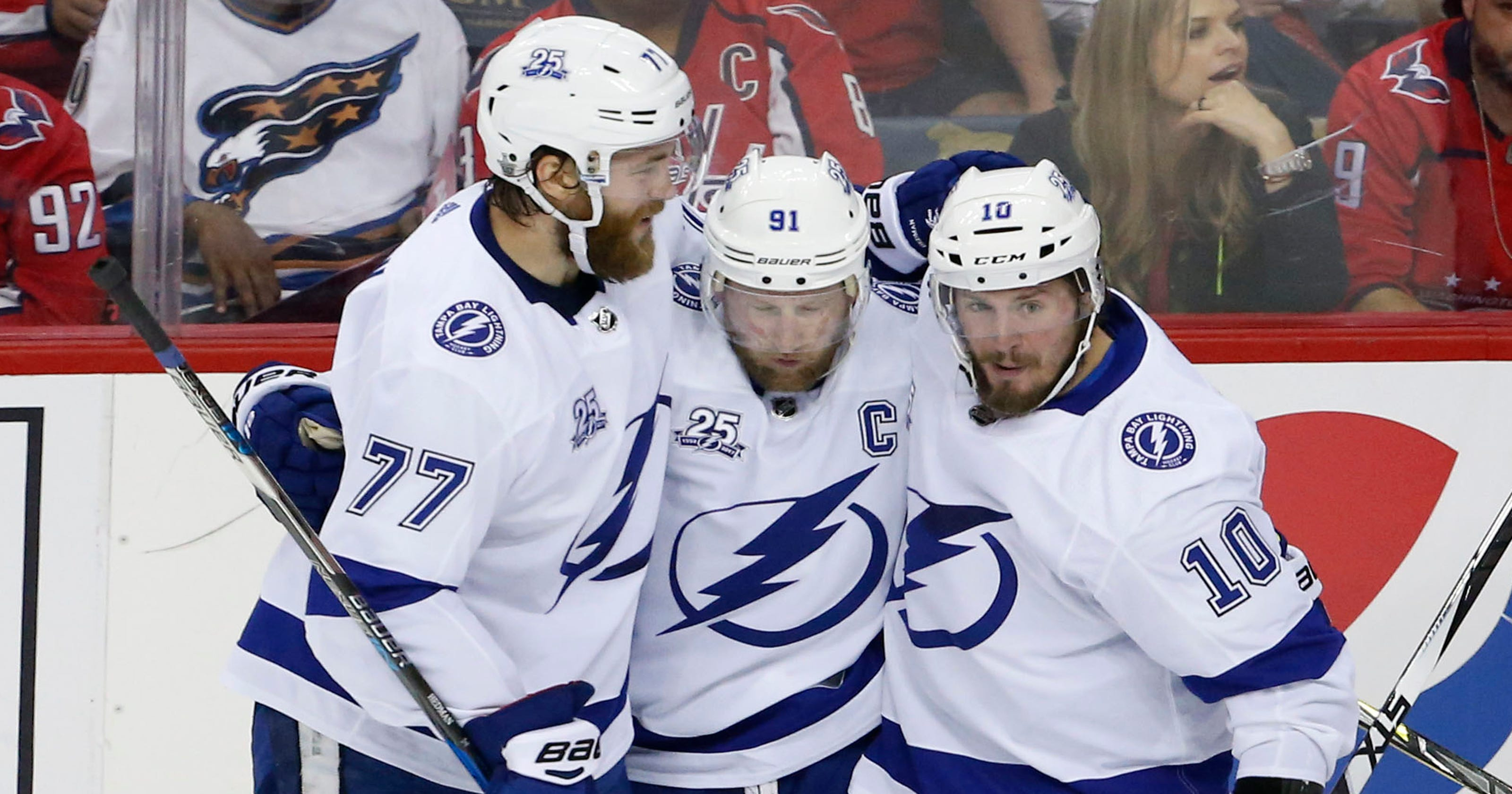 a24352364d7 NHL playoffs  Stamkos lifts Lightning back into series vs. Capitals